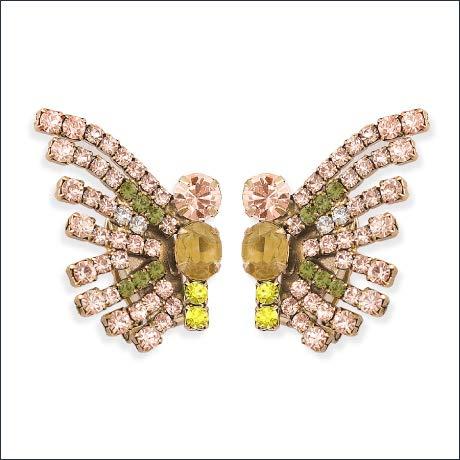 Loren Hope Callie butterfly earrings