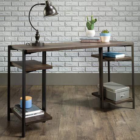Cymax - Sauder North Avenue writing desk in smoked oak