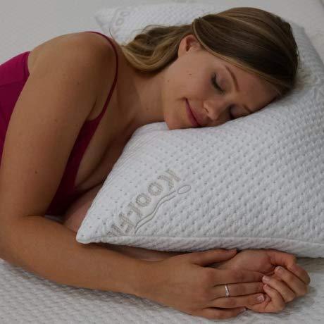 Snuggle-Pedic - original bamboo shredded memory foam pillow