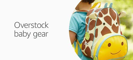 Overstock baby gear in Outlet