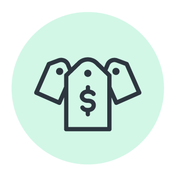 money tag icon