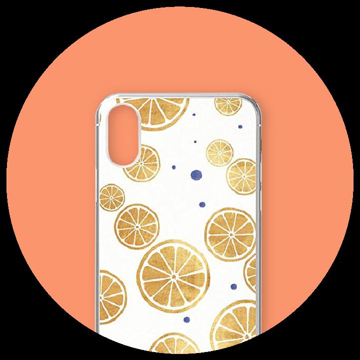 Lemon Pattern iPhone Xr Case - codesign
