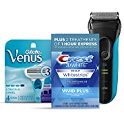 Amazon #DealOfTheDay: Save up to 30% on shaving, oral care, and grooming products from Venus, Crest, and Braun