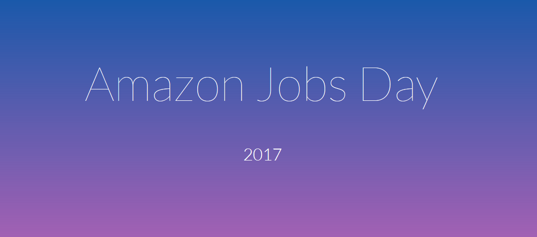 At Nation S Largest Job Fair Amazon Expects To Hire Thousands Of Employees