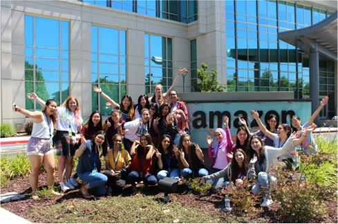 Amazon's Girls Who Code Summer Immersion Program