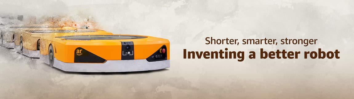 Shorter, smarter, stronger. Inventing a better robot.
