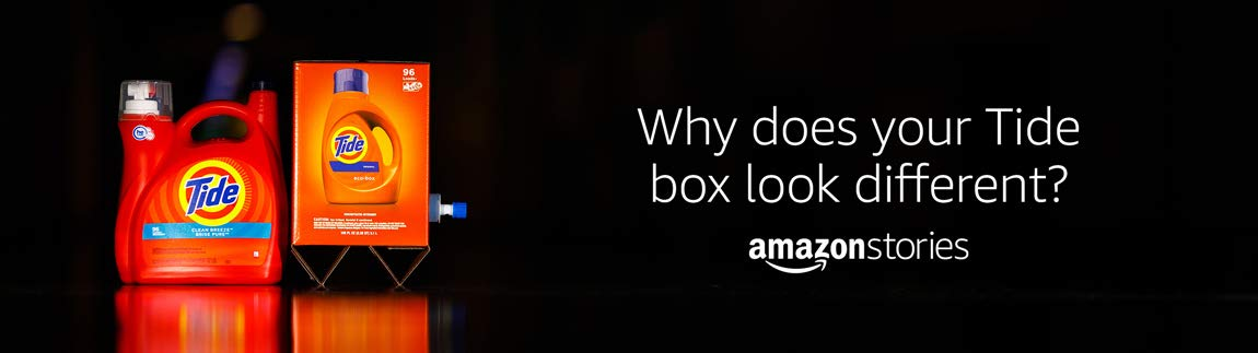 Why does your Tide box look different? Amazon Stories.
