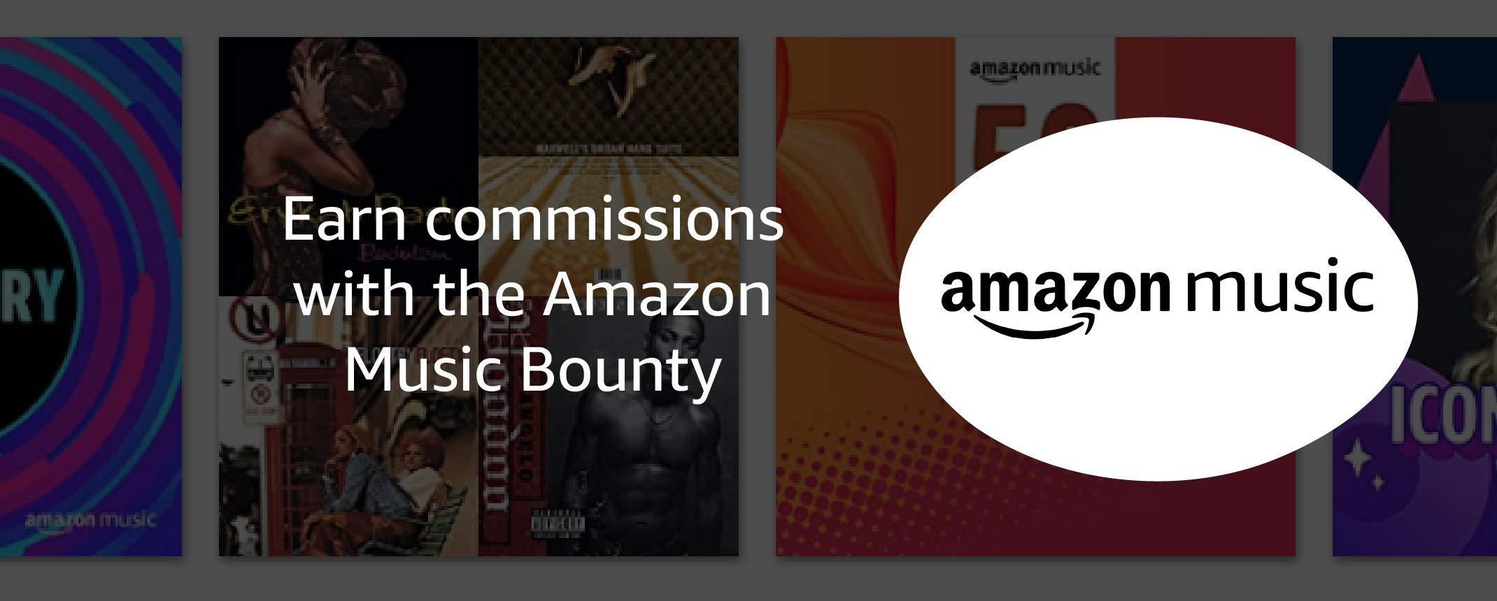 Earn commissions with the Amazon Music Bounty
