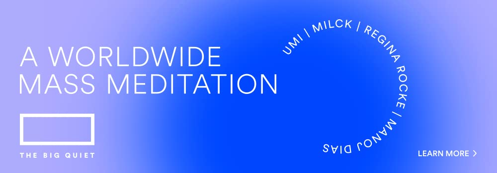 Learn More About a Worldwide Mass Meditation by The Big Quiet