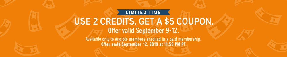 Use 2 Credits, Get $5!