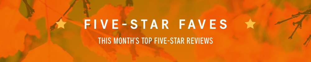 Science Fiction Fantasy Five Star Faves November 2018