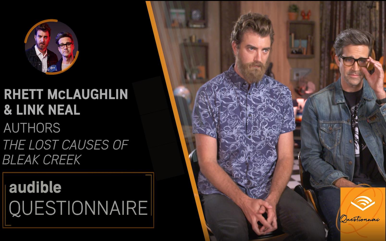 Rhett & Link - Audible Questionnaire