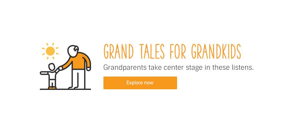 Kids' Audiobooks About Grandparents