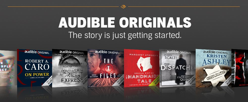 Image result for amazon audible banner