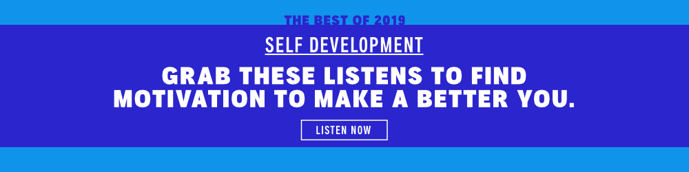 Best of 2019 (Self Development): Grab these listens to make a better you