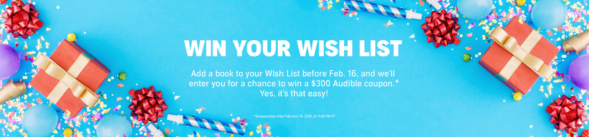 Win Your Wish List!