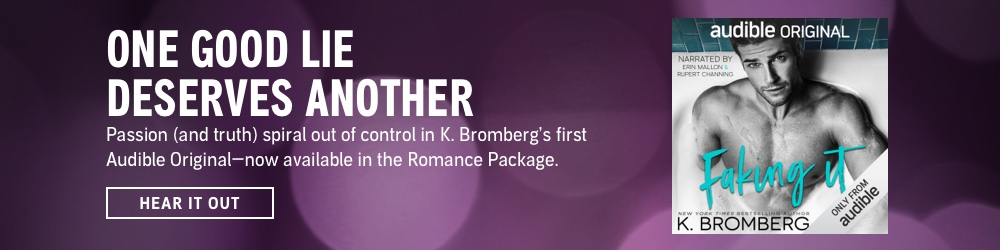 One Good Lie Deserves Another. Passion (and truth) spiral out of control in K. Bromberg's first Audible Original—now available in the Romance Package. Hear It Out.
