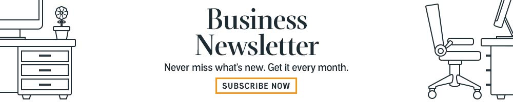 Subscribe to the Business Newsletter