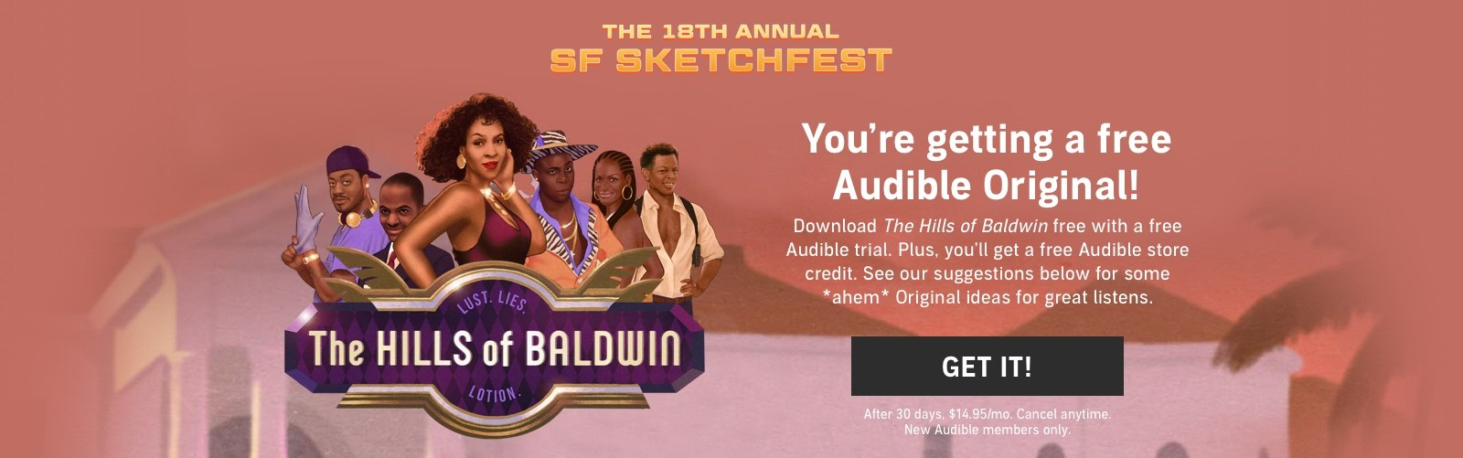 SF Sketchfest - 2 Free Audiobooks!