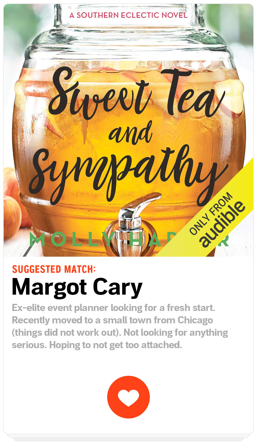 Suggested Match: Margot Cary