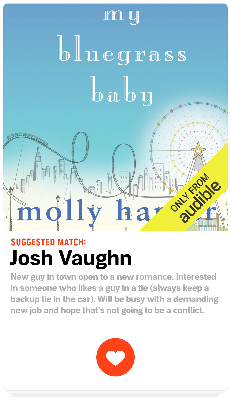 Suggested Match: Josh Vaughn