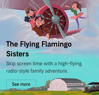 Flying Flamingo Sisters