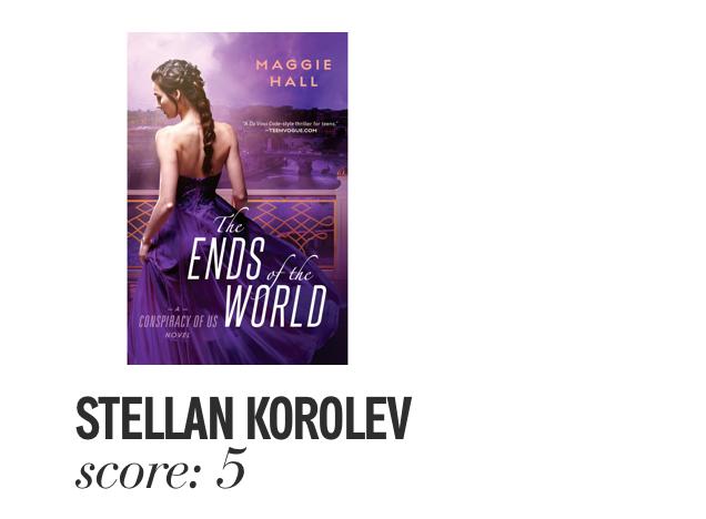 Stellan Korolev. Score: 5