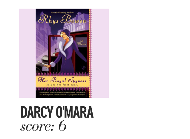 Darcy O'Mara. Score: 6