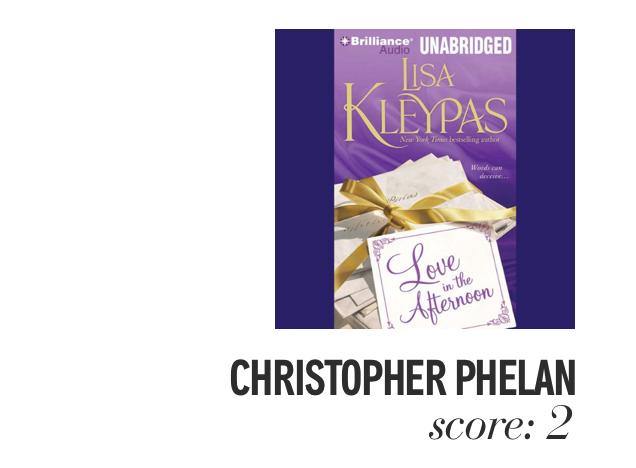 Christopher Phelen. Score: 2