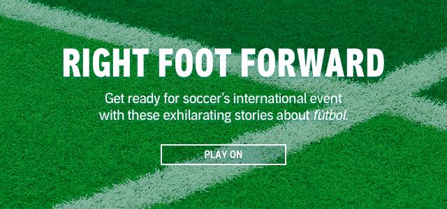 Right Foot Forward