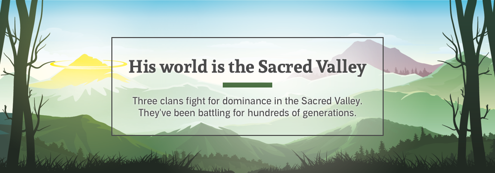 His world is the Sacred Valley.
