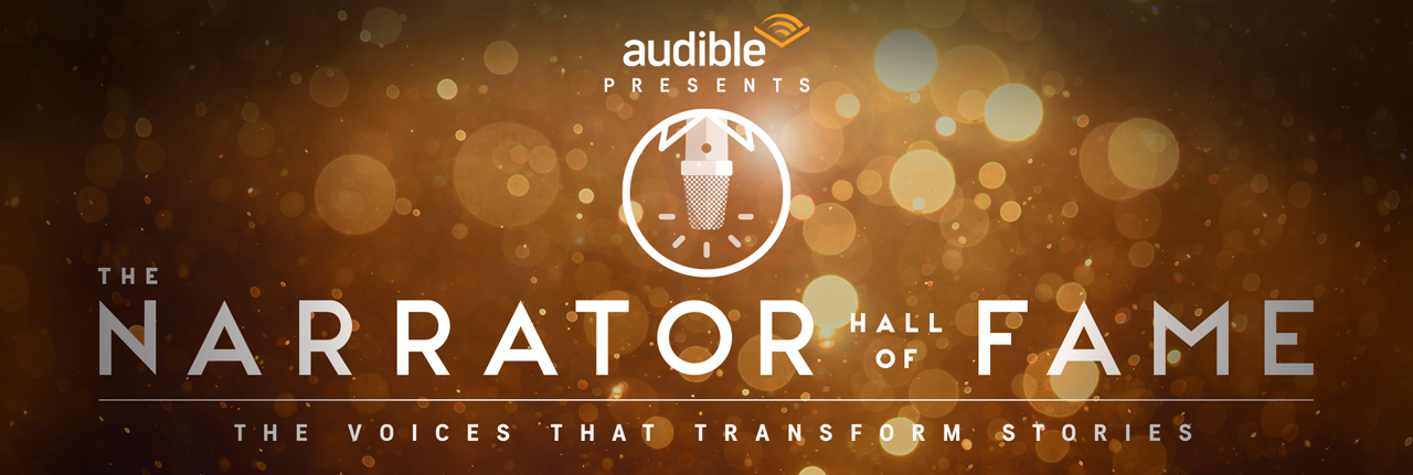 Audible's Narrator Hall of Fame