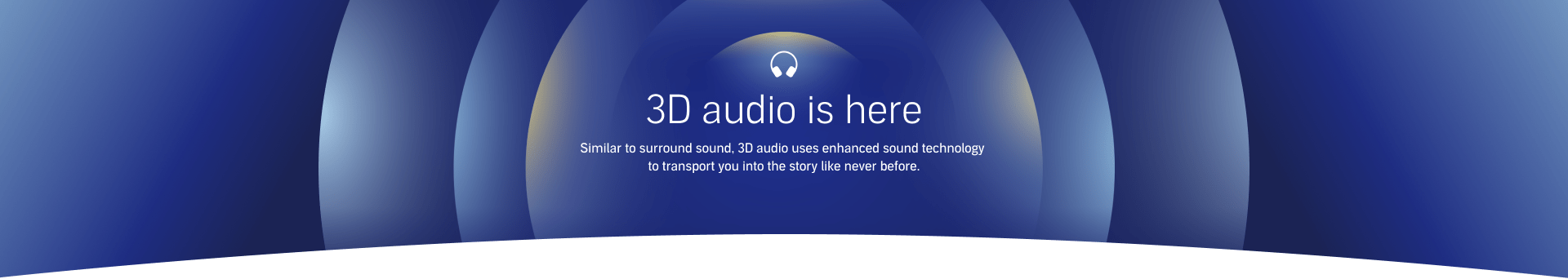 3D audio is here