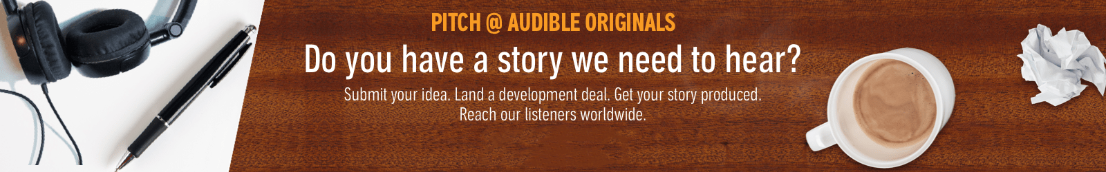 Pitch @ Audible