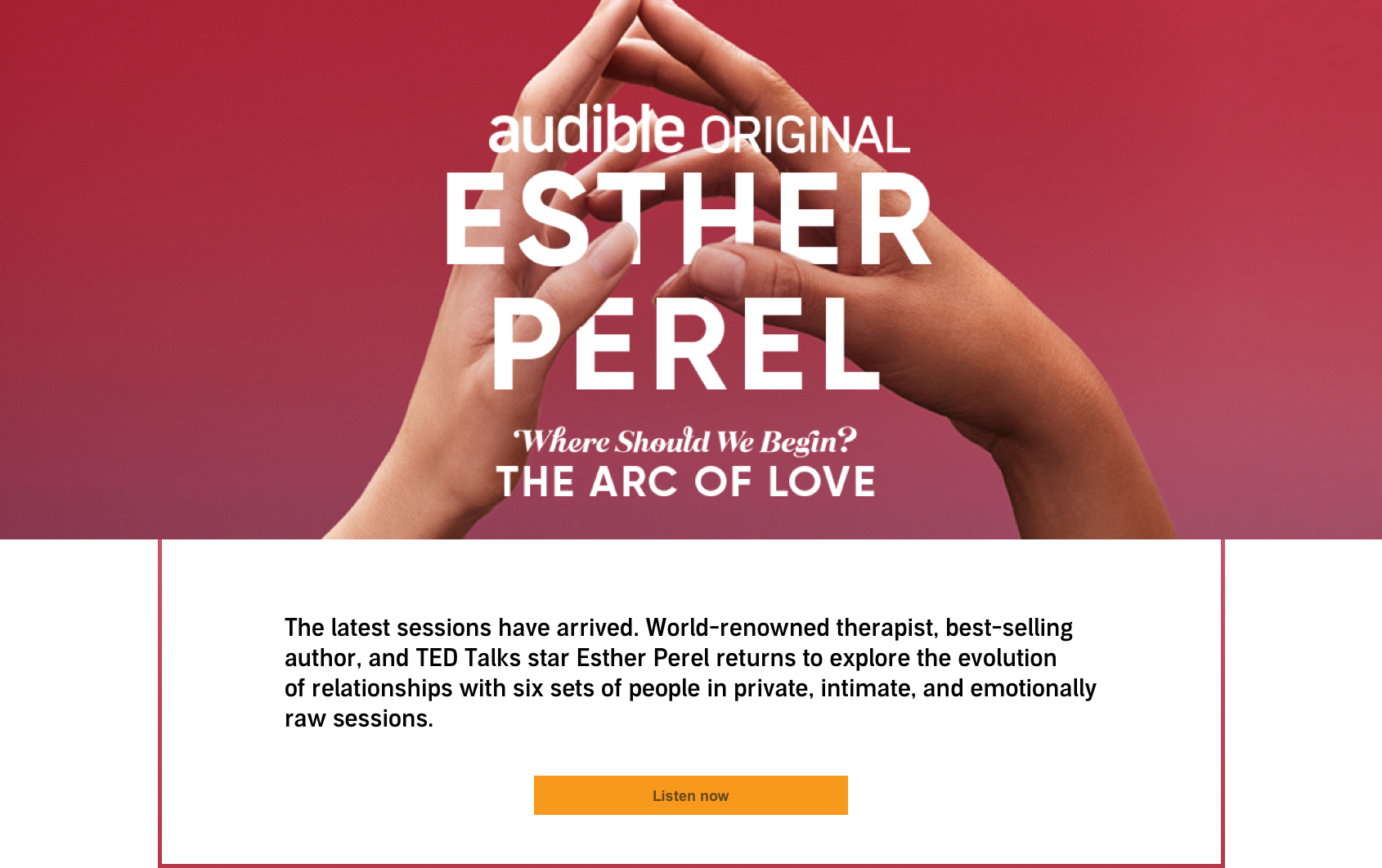 Listen to Esther Perel on Audible