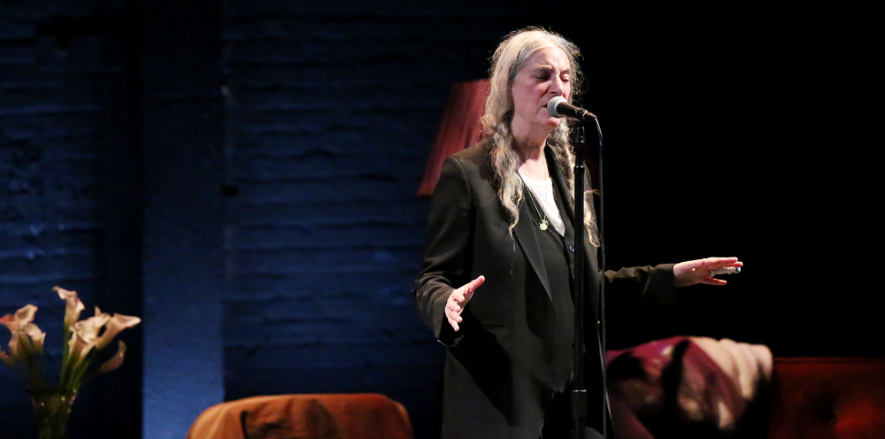 Patti Smith Live at Minetta Lane 1