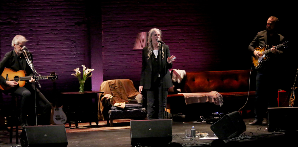 Patti Smith Live at Minetta Lane 2
