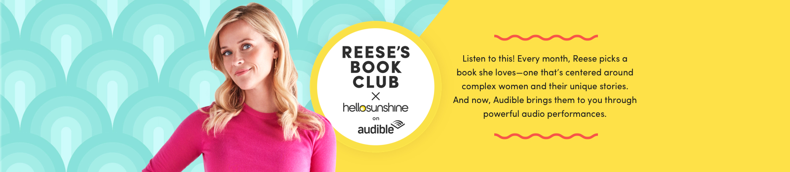 Reese's Book Club by Hello Sunshine on Audible