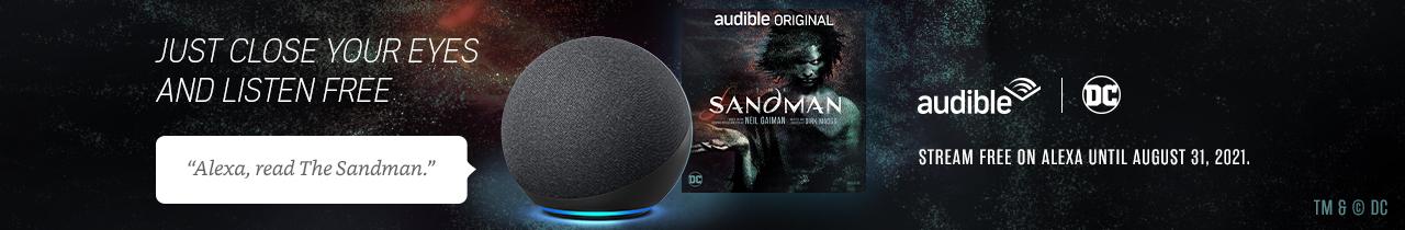Stream The Sandman on Alexa until August 31