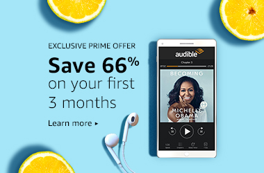 Limited-time offer on Audible membership. $4.95/mo for the first 3 months. Get this deal.