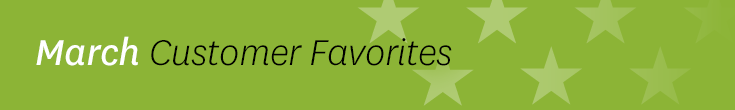 March Listener Favorites