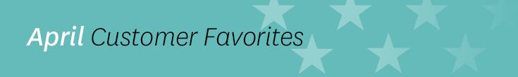 April Listener Favorites