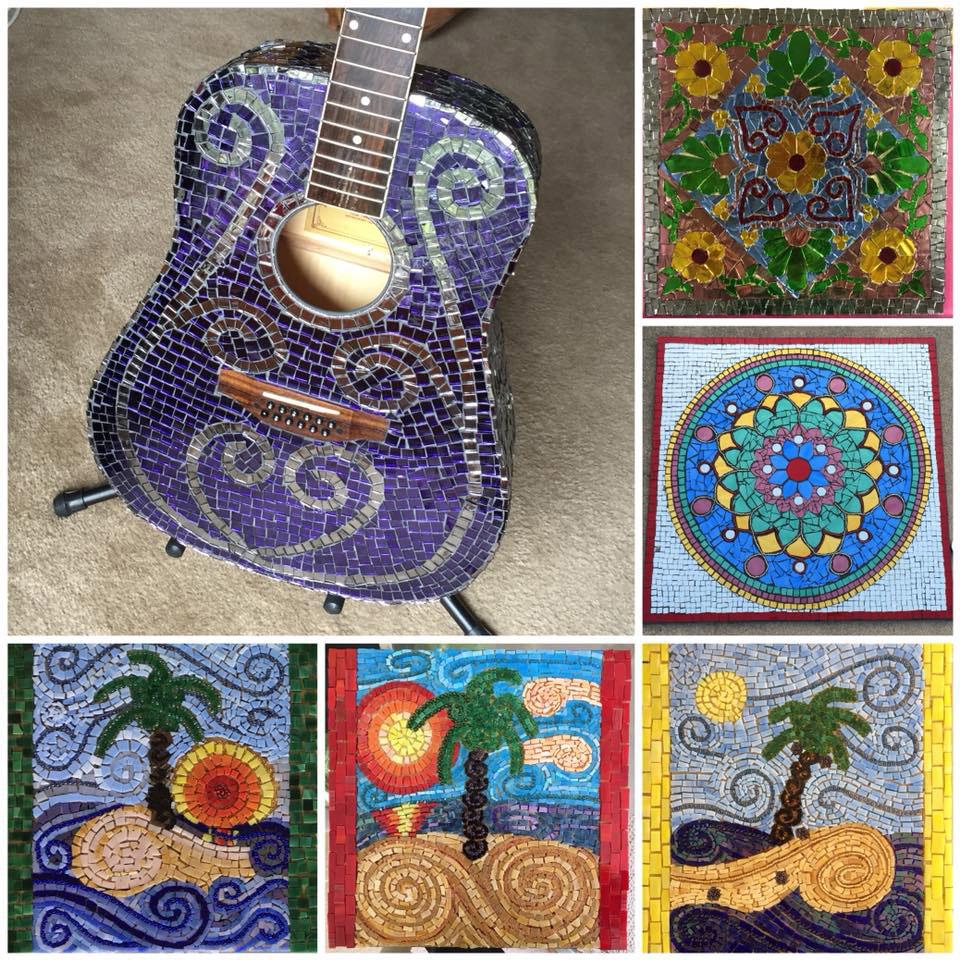 Mosaic pieces by Franziska z.