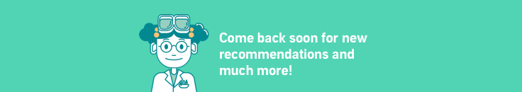 Come back soon for new recommendations!