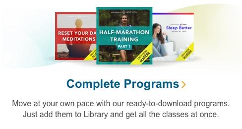 Complete Programs
