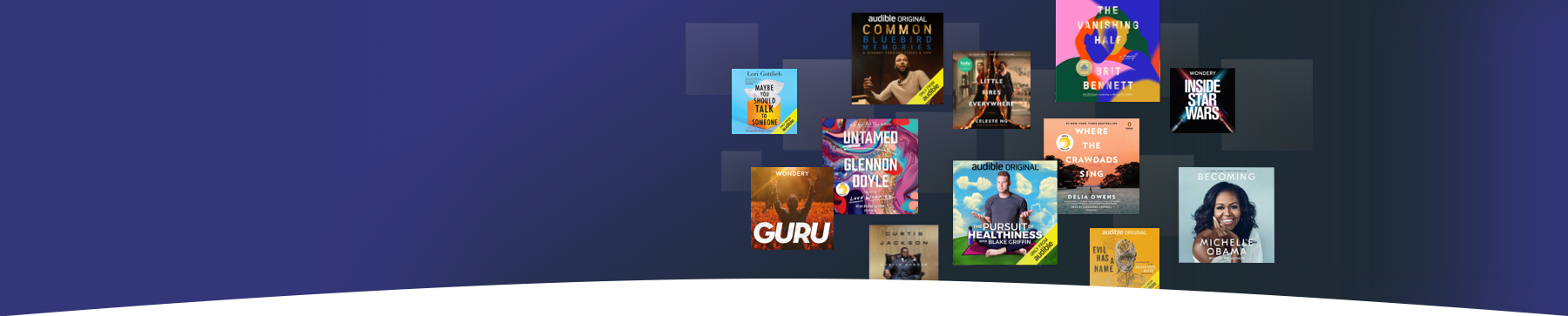 Give the gift of audible. Give them more of what they're into with an Audible gift