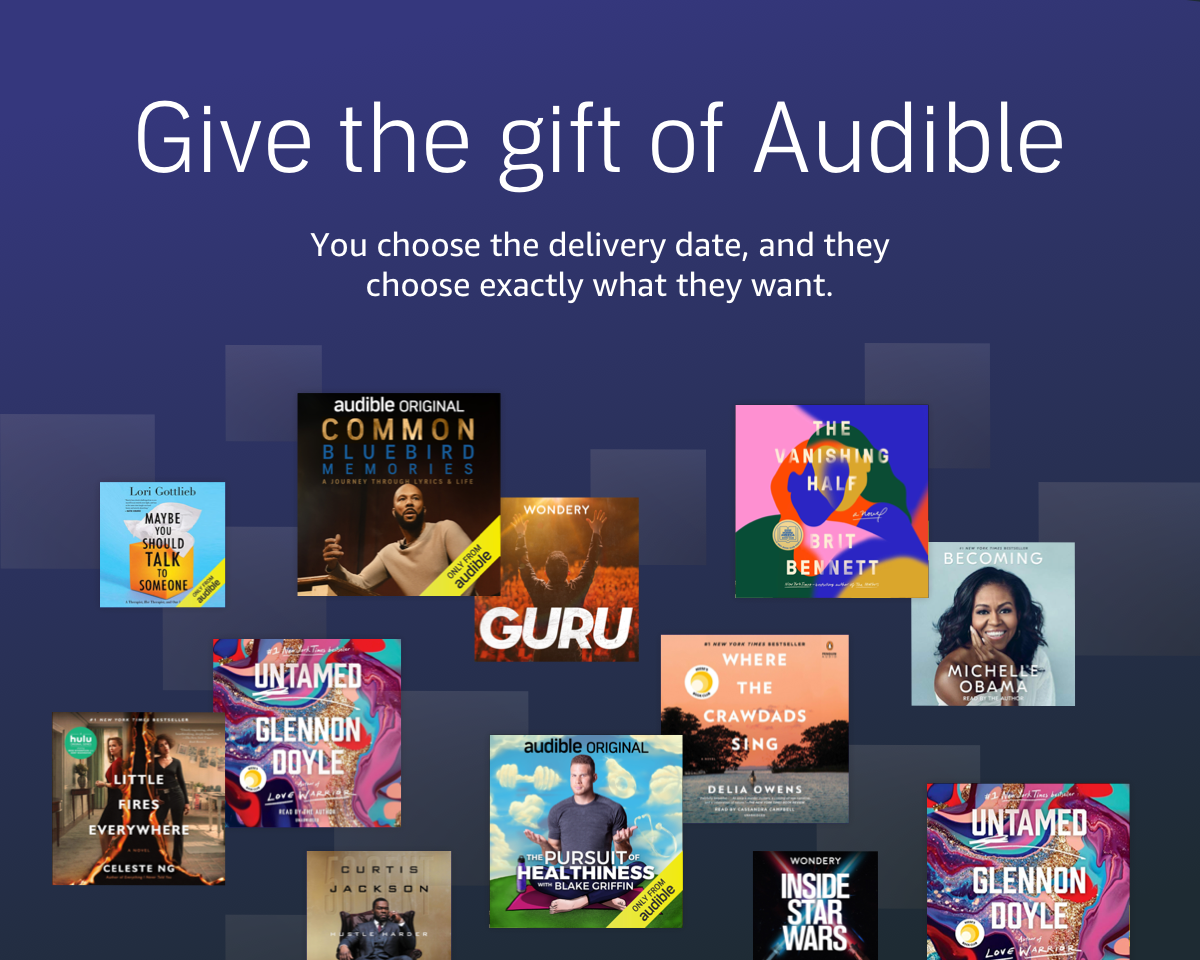 Audible Gift Membership