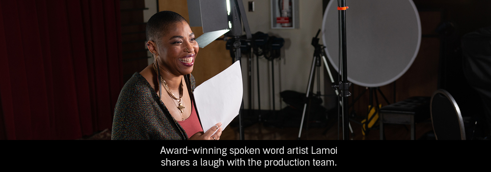 Behind the scenes with Lamoi