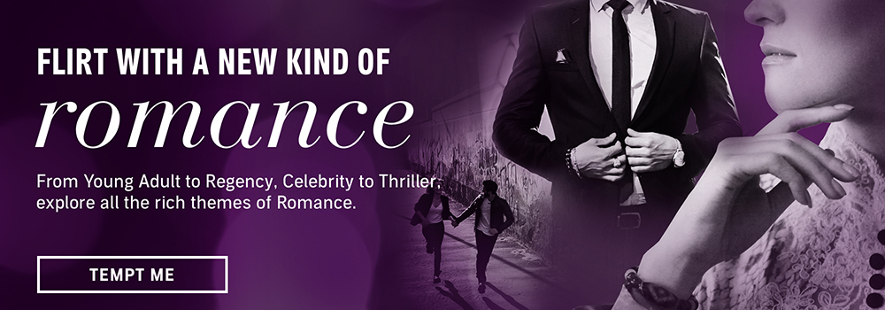 Flirt with a new kind of romance. From Young Adult to Regency, Celebrity to Thriller, explore all the rich themes of Romance. Tempt me.