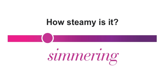 How steamy is it? Simmering